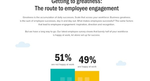 Getting to Greatness: The Route to Employee Engagement
