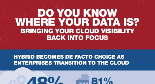 Infographic: Bringing Your Cloud Visibility Back Into Focus