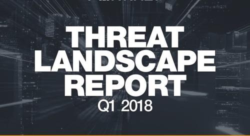 Q1 2018 Threat Landscape Report