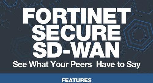 Fortinet's Secure SD-WAN: Gartner Peer Insights Reviews