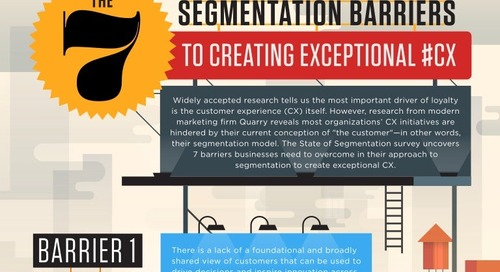 The 7 Segmentation Barriers to Creating Exceptional CX