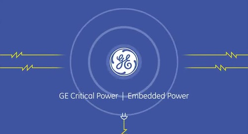Video: GE Critical Power Embedded Power Overview