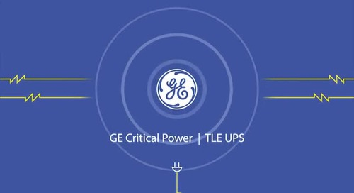 Introducing The TLE Series UPS