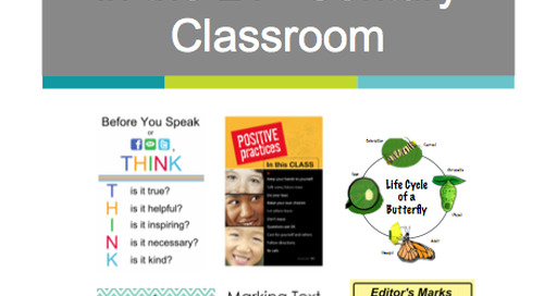 Interactive PDF: Anchor Charts in the 21st Century Classroom