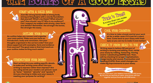 Awesome Poster Alert! The Bones of a Good Essay