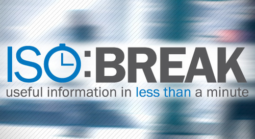 ISO:BREAK - ISO 27001:2013 Documented Information Requirements