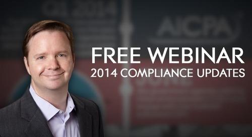 Complimentary Live Webinar: 2014 Compliance Updates