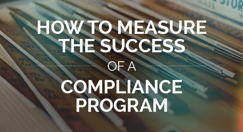 How to Measure the Success of a Compliance Program