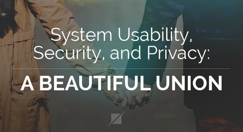 System Usability, Security, and Privacy: A Beautiful Union