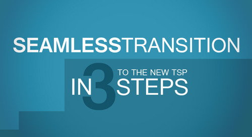 A Seamless Transition to the New TSP in 3 Steps