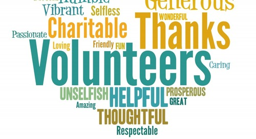 Celebrate Your Volunteers with These Low and No Cost Ideas!