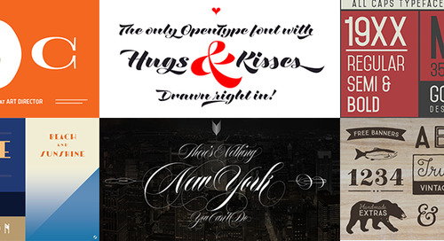 15 Gorgeous Fonts to Use in Your Next Design