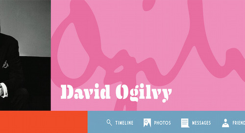 What David Ogilvy's Facebook Profile Would Look Like [Infographic]