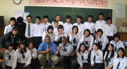 Q and A: Teaching English in Japan with ITA Advisor, Edward Young