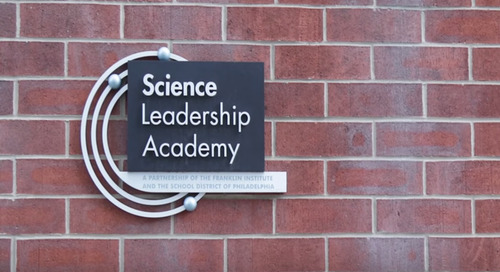 Science Leadership Academy & Canvas: Enabling Inquiry-Driven, Hands-On Education