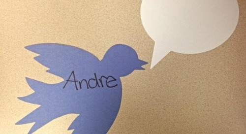 Interactive Bulletin Board: Tweet About It!