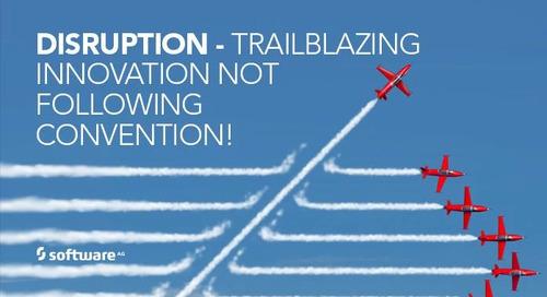 Disruption: Trailblazing Innovation, not Following Convention!