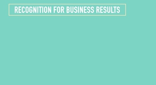 Recognition For Business Results: Fuel For Success