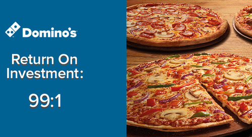 How Domino's Achieved a 99:1 ROI with Exit-Intent Overlays