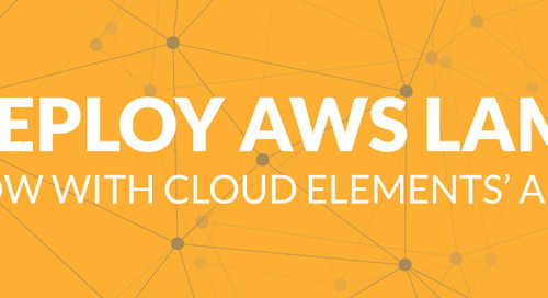Developers Can NOW Deploy Integrations as AWS Lambdas with Element Builder