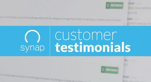 Synap Gains Momentum in the API Economy | Customer Video