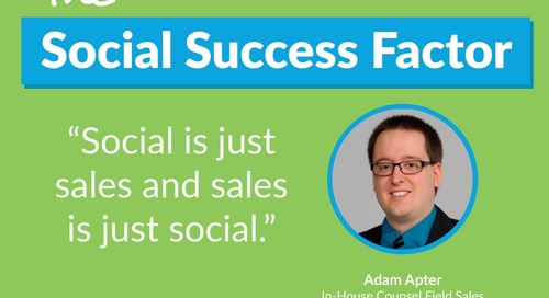 Why Social Selling Impacts 100% Of Your Pipeline [Success Story]