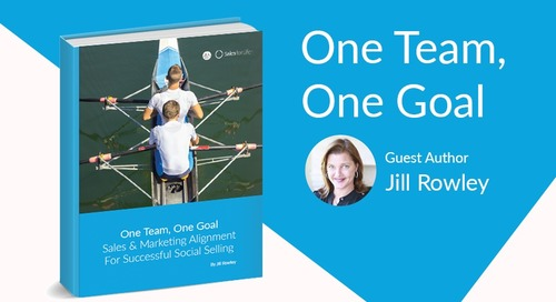 eBook: One Team, One Goal - Aligning Marketing & Sales For Successful Social Selling