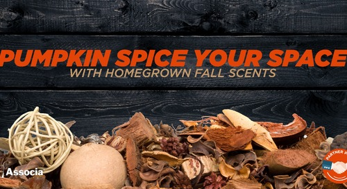 Pumpkin Spice Your Space with Homegrown Fall Scents