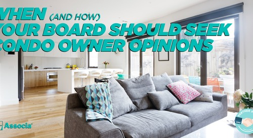 Partner Post: When (and How) Your Board Should Seek Condo Owner Opinions