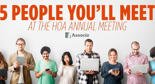 These are the Five People You'll Meet at the Annual HOA Board Meeting. Which One Are You?