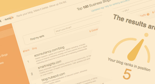The Top 100 U.K. Business Blogs: How Does Yours Rank? [Free Tool]