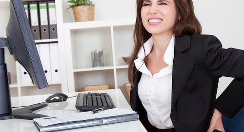 Desk Ergonomics: Posture Tips to Stay Happier & Healthier at Work [Infographic]