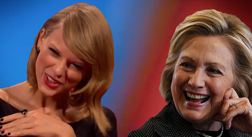 Hillary Clinton Is Borrowing Marketing Tactics From Taylor Swift (And It's Working)