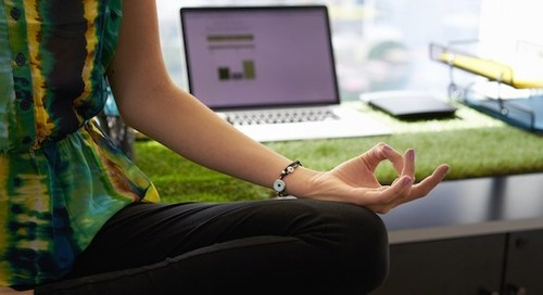 How to Find Time to Meditate at Work [Infographic]