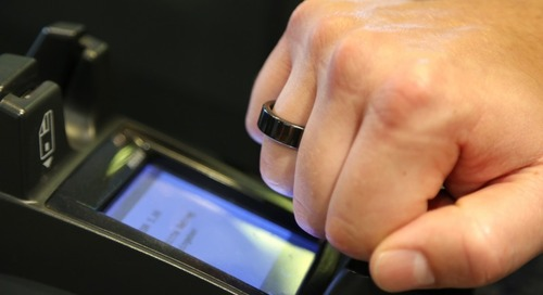Contactless Security Chip Powers First NFC Payment Ring