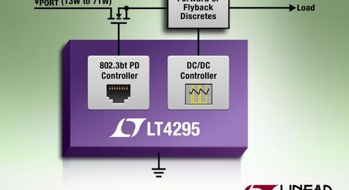IEEE 802.3bt PD Controller