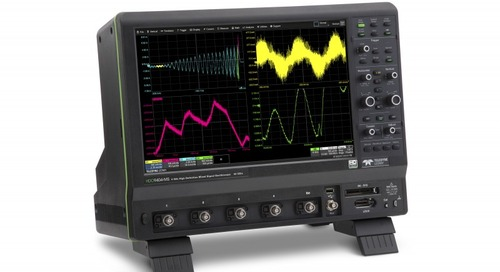 10-Bit HDO9000 High Definition Oscilloscopes