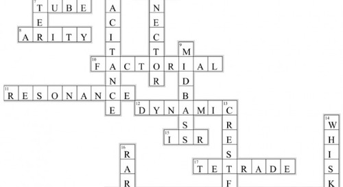 Electrical Engineering Crossword (Issue 316)