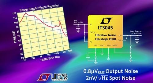 Ultra-Low Noise, Ultra-High PSRR Low-Dropout Voltage Linear Regulator