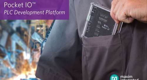 Pocket IO PLC Development Platform for Industry 4.0 Applications