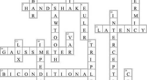 Electrical Engineering Crossword (Issue 319)