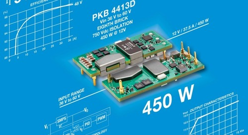 New Low-Profile, 450-W DC/DC Converter Module