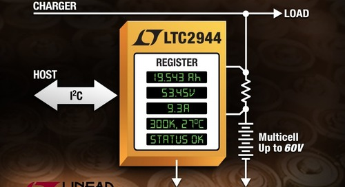 Highly Accurate 60-V I²C Battery Cell Monitor