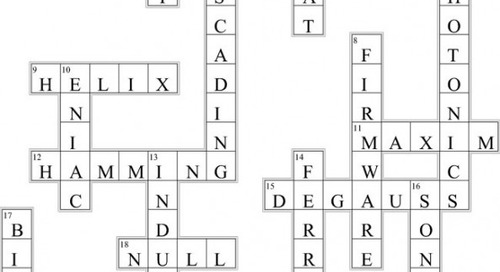 Electrical Engineering Crossword (Issue 320)