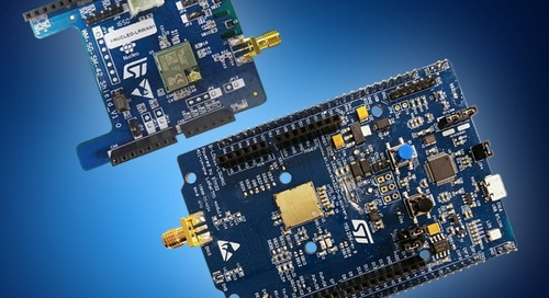 Mouser Stocks STM32 LoRaWAN Discovery Board