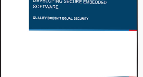 Embedded Software: Tips & Insights (Sponsor: PRQA)