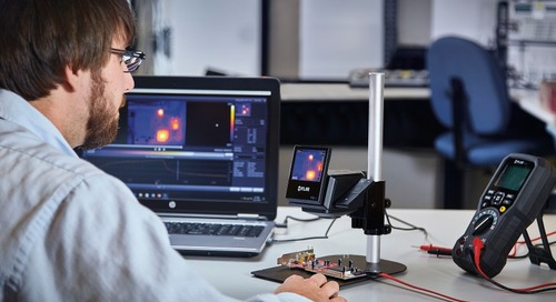 New Thermal Imaging Solution for Benchtop Electronics Testing