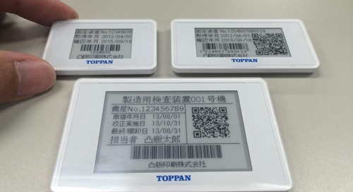 E-Paper Display Modules Drive Batteryless RFID Tags