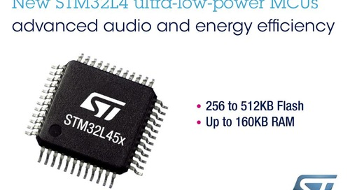 New STM32L4 Microcontrollers with On-Chip Digital Filter