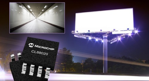 Microchip Sequential Linear LED Driver Targets Offline Lighting